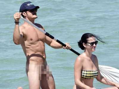 奥兰多布鲁姆5裸 奥兰多・布鲁姆与女友划船全裸照泄露