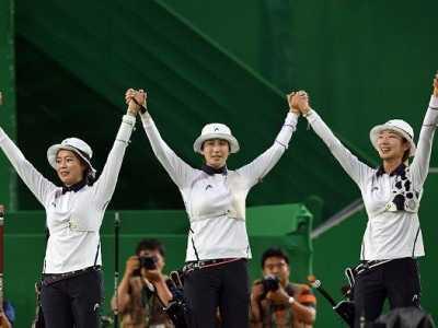 韩国女子射箭 韩国射箭女队28年奥运8连冠