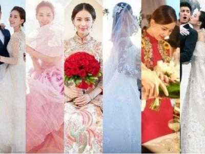 刘诗诗蒋劲夫 刘诗诗到底穿了几套婚纱
